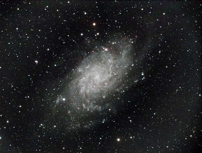 Triangulum Galaxy - distance 3 million light years in Tirangulum