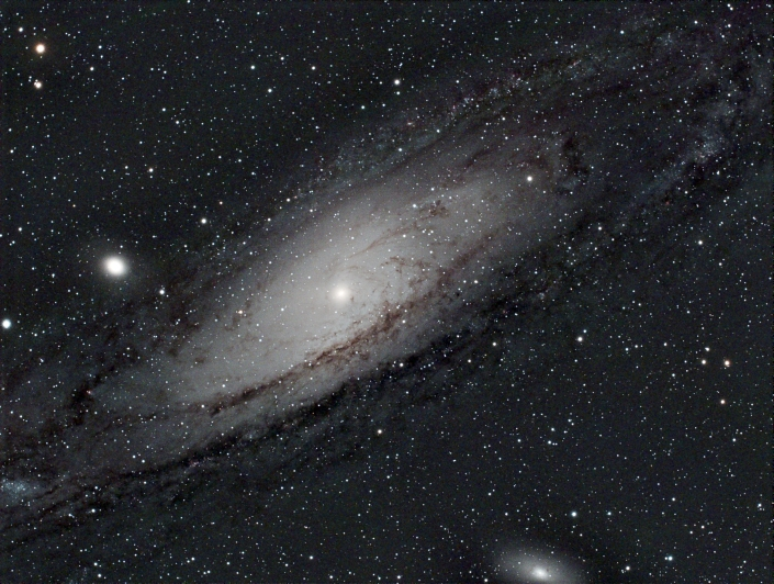 M31 Andromeda Galaxy - distance 2.5 million light years