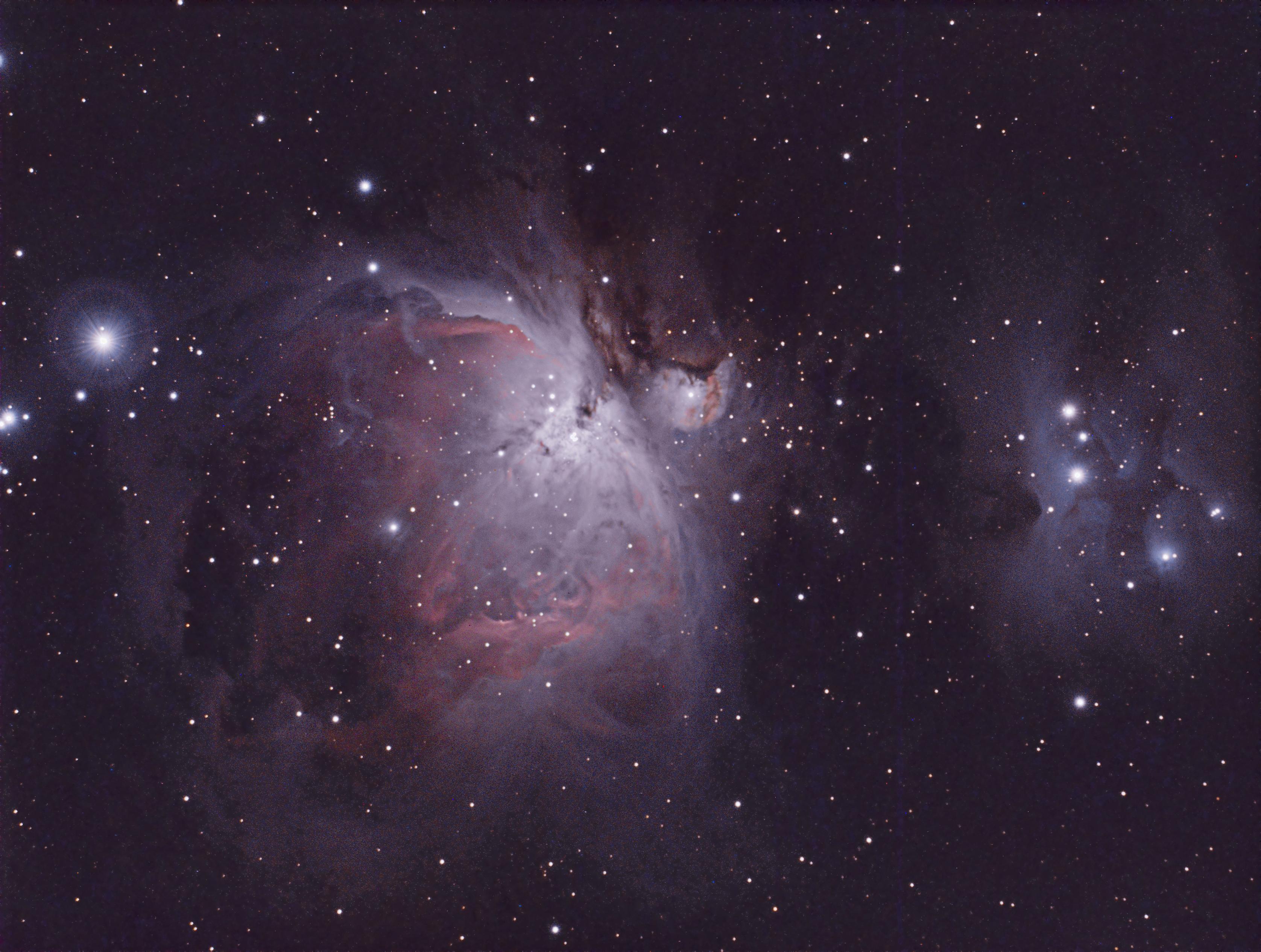 how big is orion nebula - photo #35