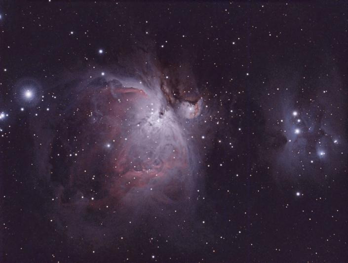 Orion Nebula - distance 1344 light years