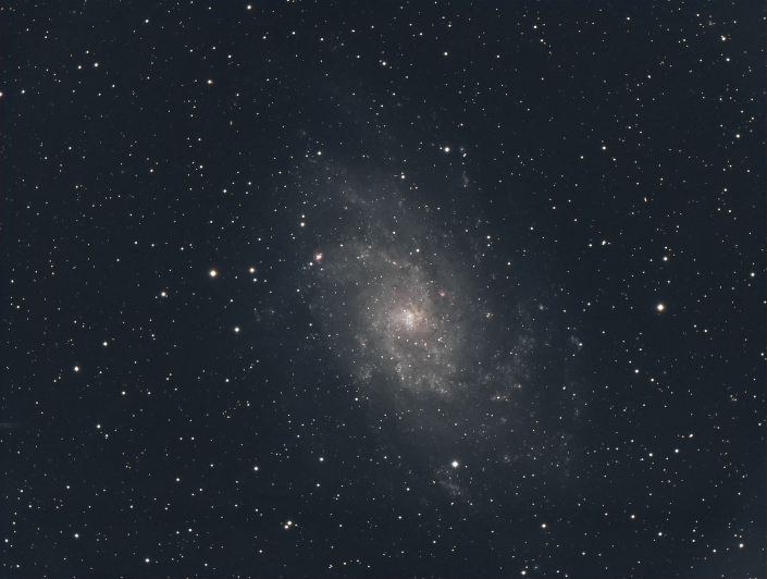 Messier 33 -Triangulum Galaxy - distance 3 million light years