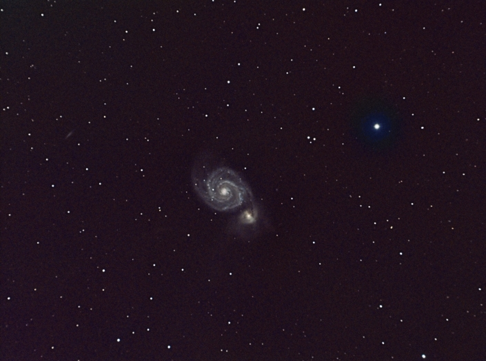 Messier 51,  Whirlpool Galaxy