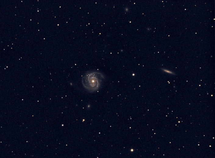 M100 Spiral Galaxy - distance: 55 million light years