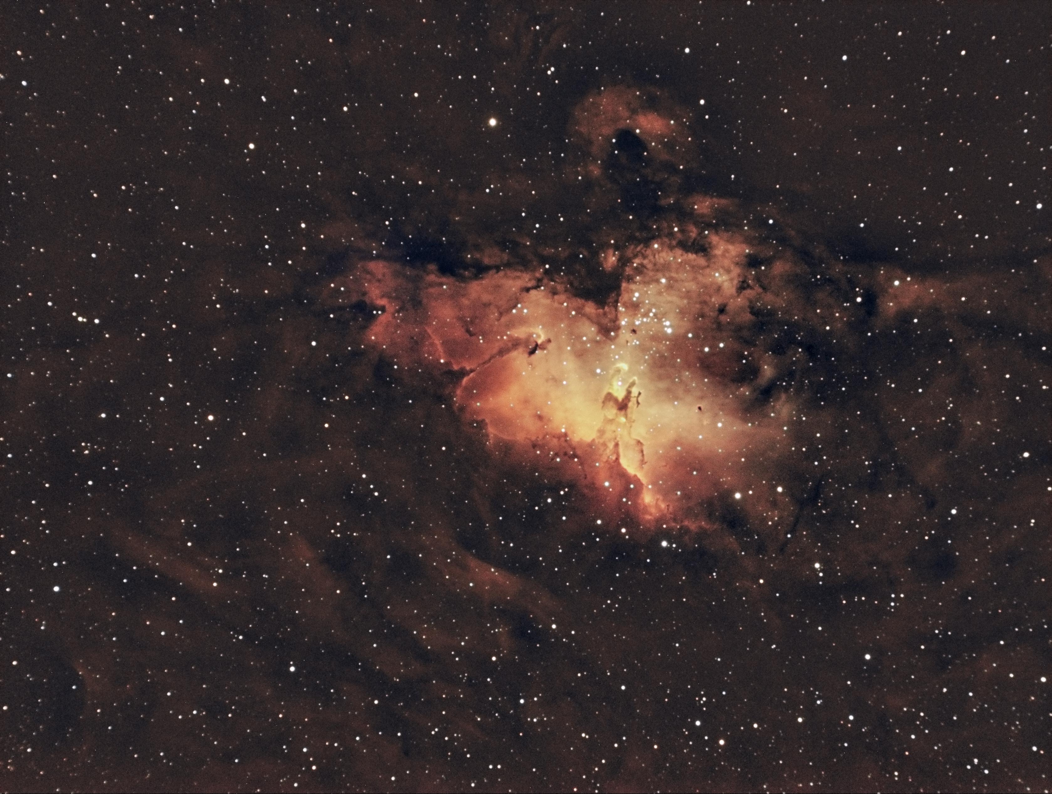 m16 eagle nebula face - photo #38