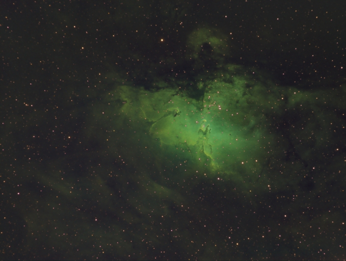 M16 in Hubble pallete