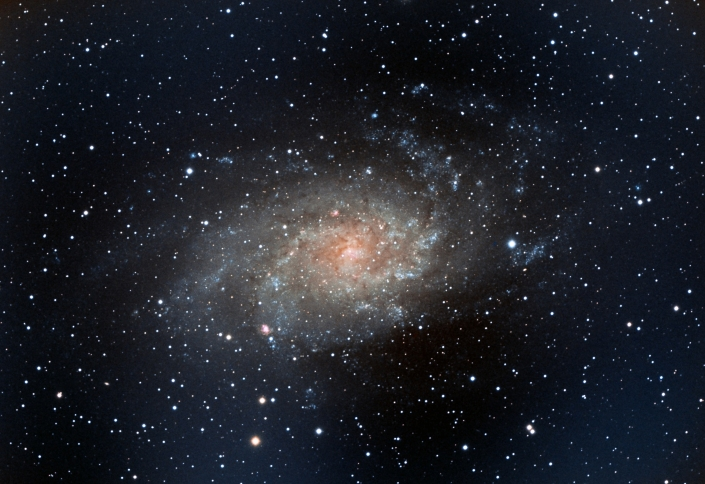 M33 Tirangulum Galaxy - distance 2.3 million light-years