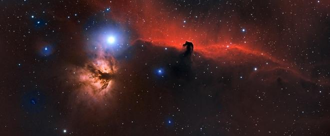 Horsehead Nebula - distance 1,500 light years